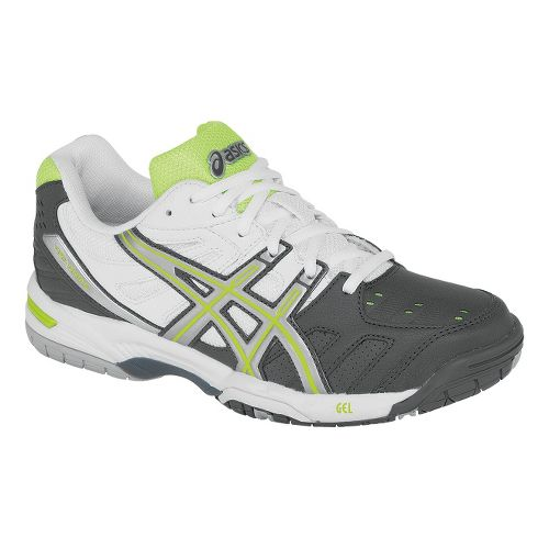 Womens ASICS GEL-Game 4 Court Shoe - Charcoal/Silver 7.5