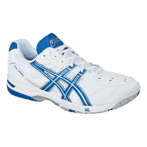 Womens ASICS GEL-Game 4 Court Shoe - White/Silver 5.5