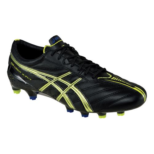 Mens ASICS DS Light X-FLY K Track and Field Shoe - Black/Lime 7