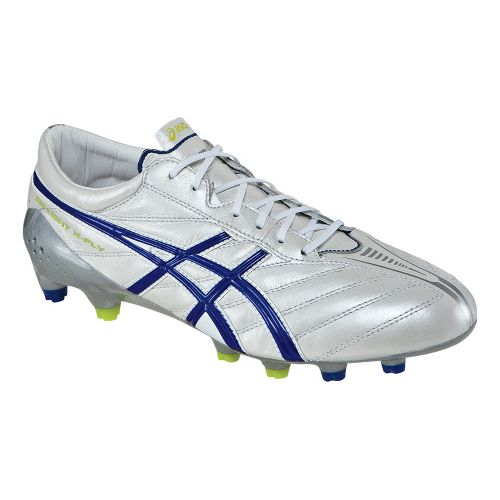Mens ASICS DS Light X-FLY K Track and Field Shoe - White/Deep Blue 7