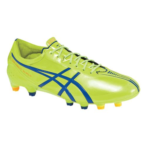 Mens ASICS DS Light X-FLY MS Track and Field Shoe - Flash Yellow/Deep Blue 7.5 ...