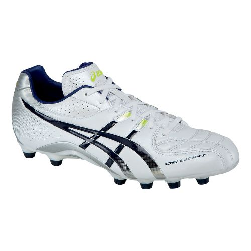 Mens ASICS DS Light 5 Track and Field Shoe - Pearl/White 11.5
