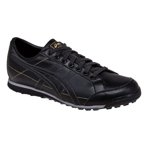 Mens ASICS Matchplay Classic Casual Shoe - Black/Onyx 10.5
