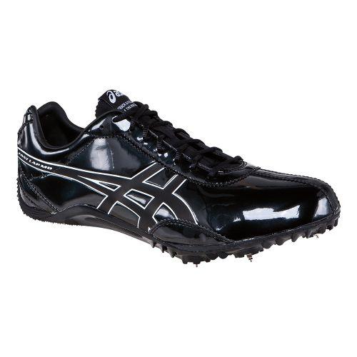 Mens ASICS FastLap MD Track and Field Shoe - Black/Onyx 12.5