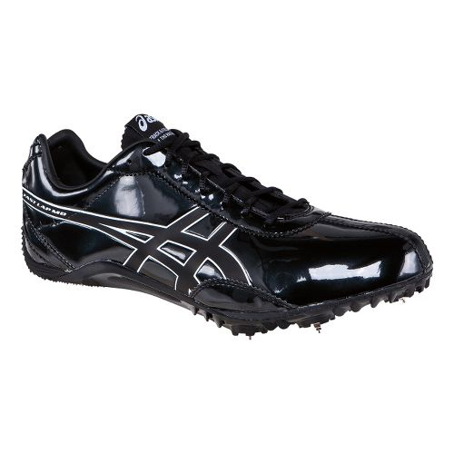 Mens ASICS FastLap MD Track and Field Shoe - Black/Onyx 6