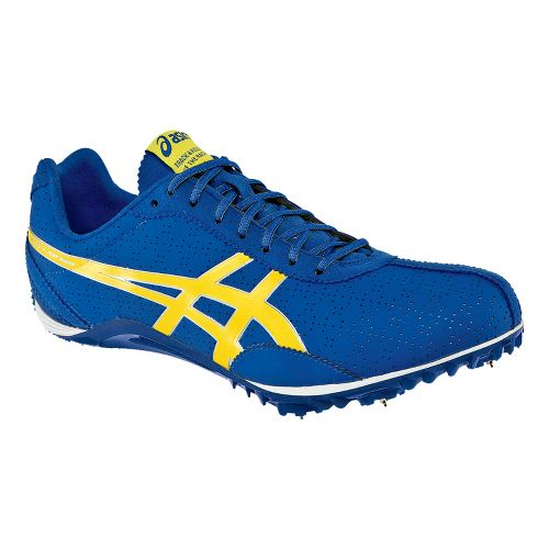 Mens ASICS FastLap MD Track and Field Shoe - Royal/Aspen Gold 10