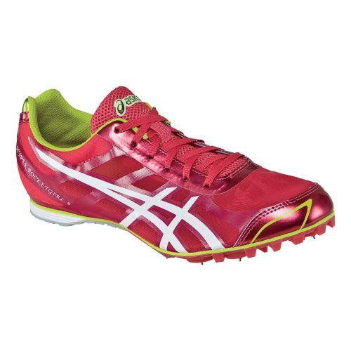 Womens ASICS Hyper-Rocketgirl 6 Track and Field Shoe - Pink/White 10.5