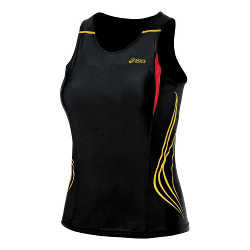 Womens ASICS TIL Tank Top Technical Tops - Black XL