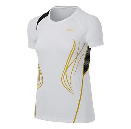 Womens ASICS TIL Tee Short Sleeve Technical Tops