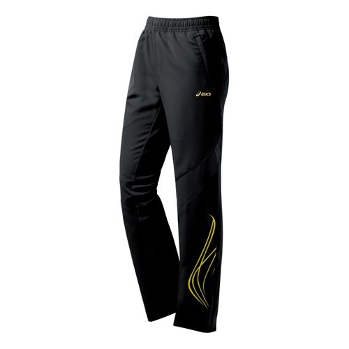 Womens ASICS TIL Full Length Pants - Black L