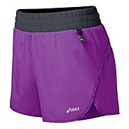 "Womens ASICS FujiTrail 4.5"" Splits Shorts"