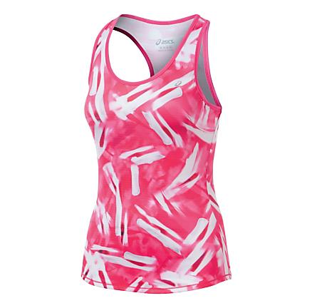 Womens ASICS Emma Racerback Tanks Technical Tops