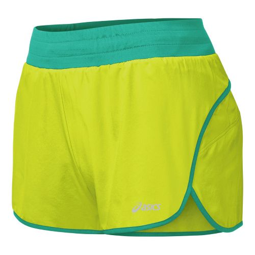 Womens ASICS Distance 3.5 Splits Shorts - WOW S