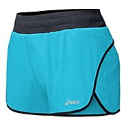 "Womens ASICS Distance 3.5"" Splits Shorts"