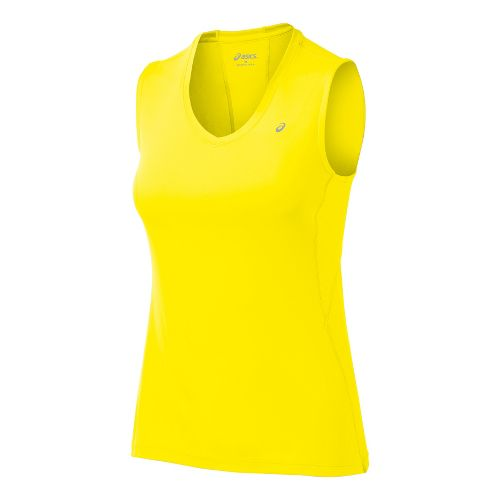 Womens ASICS Favorite Tanks Technical Tops - Vivid L