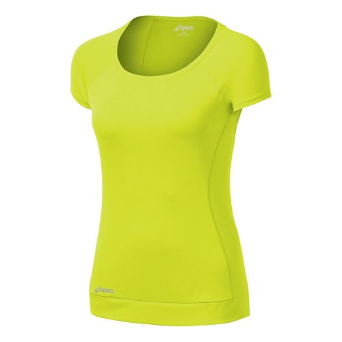 Womens ASICS Favorite Short Sleeve Tee Technical Tops - WOW M