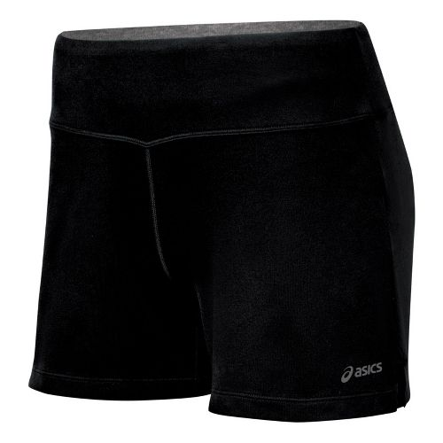 Womens ASICS Contour LT Unlined Shorts - Black XL