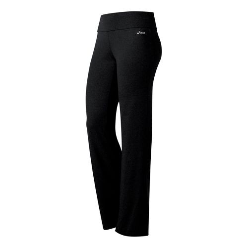 Womens ASICS Contour LT Full Length Pants - Black XL
