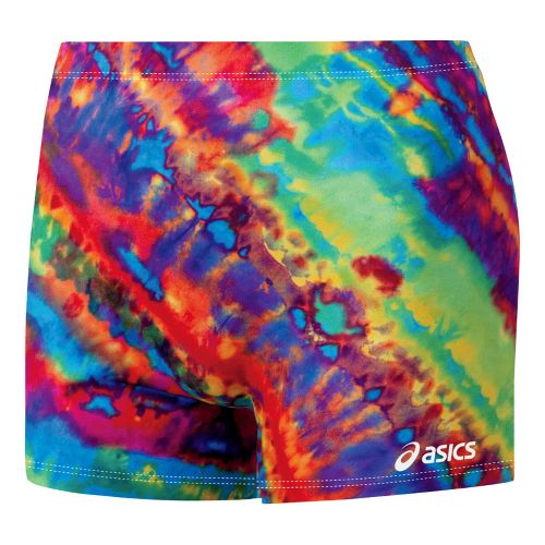 Womens ASICS Trippin Fitted Shorts - Royal/Red L