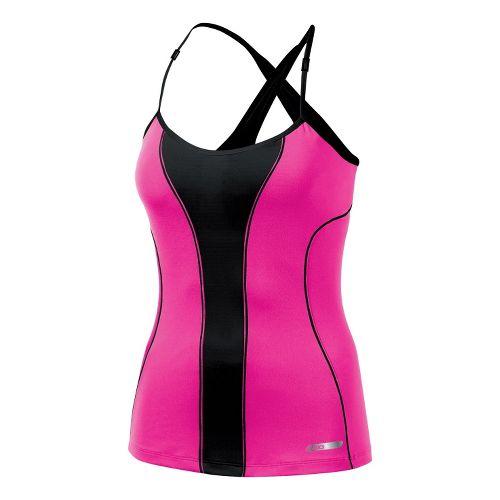 Womens ASICS Abby Bra Tank Technical Tops - PinkGlo XL