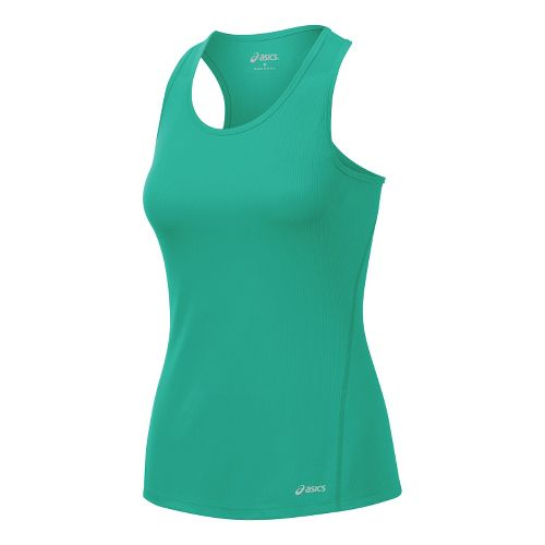 Womens ASICS Core Singlets Technical Tops - Mint S