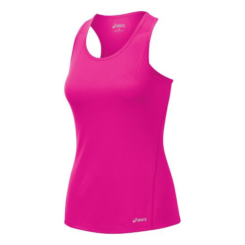 Womens ASICS Core Singlets Technical Tops - PinkGlo XL