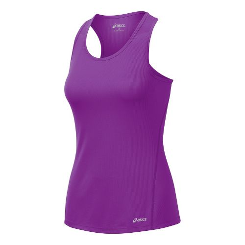 Womens ASICS Core Singlets Technical Tops - Purple Pop L