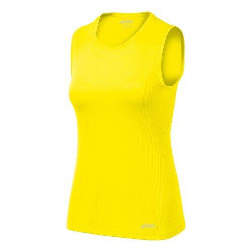 Womens ASICS Core Tanks Technical Tops - Vivid XS