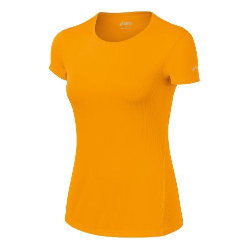 Womens ASICS Core Short Sleeve Technical Tops - Fuel L