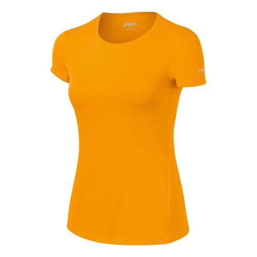 Womens ASICS Core Short Sleeve Technical Tops - Fuel M
