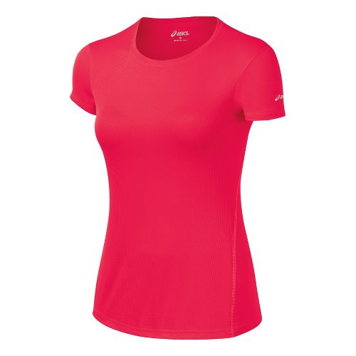 Womens ASICS Core Short Sleeve Technical Tops - Verve L