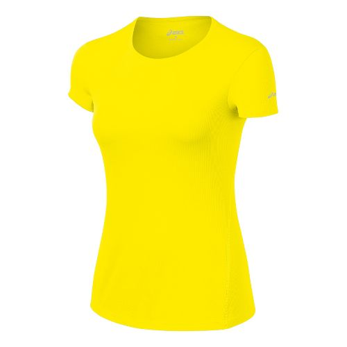 Womens ASICS Core Short Sleeve Technical Tops - Vivid S