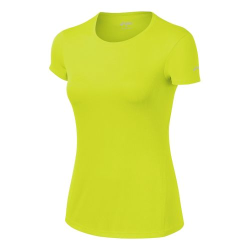 Womens ASICS Core Short Sleeve Technical Tops - WOW L