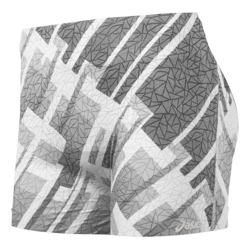 Womens ASICS PR Runbrief Boy Short Underwear Bottoms - Fortitude Print XS/S