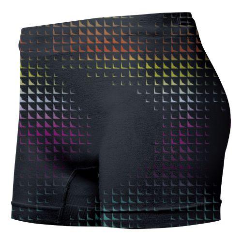 Womens ASICS PR Runbrief Boy Short Underwear Bottoms - Energy Print XS/S
