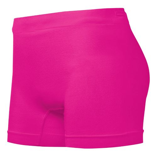 Womens ASICS PR Runbrief Boy Short Underwear Bottoms - PinkGlo XS/S