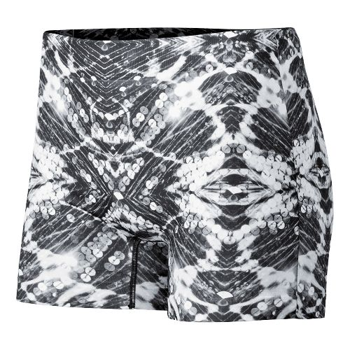 Womens ASICS PR Runbrief Boy Short Underwear Bottoms - Sequin Print XS/S
