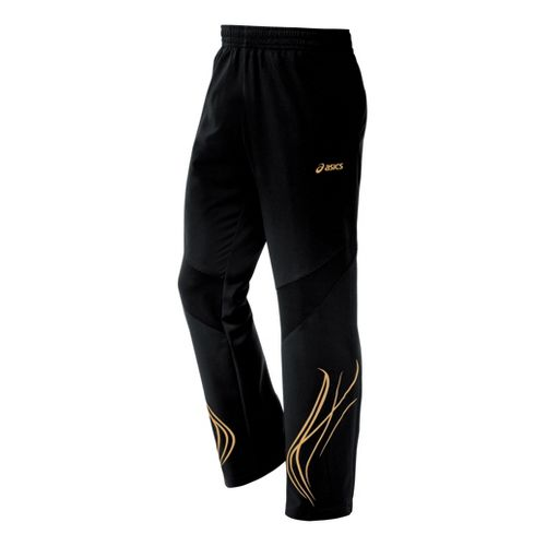 Mens ASICS TIL Full Length Pants - Black M