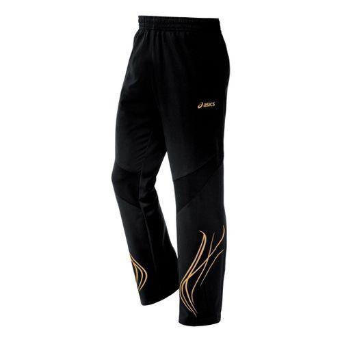 Mens ASICS TIL Full Length Pants - Black XXL