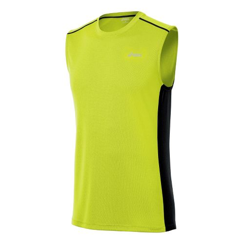 Mens ASICS FujiTrail Sleeveless Technical Tops - WOW S