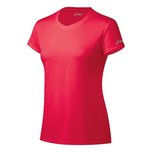 Womens ASICS Ready-Set Short Sleeve Technical Tops - Verve L