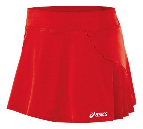 Womens ASICS Love Skort Fitness Skirts - Red XXL