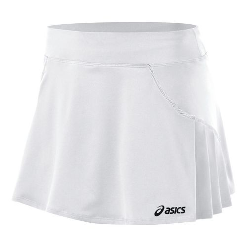Womens ASICS Love Skort Fitness Skirts - White XXL