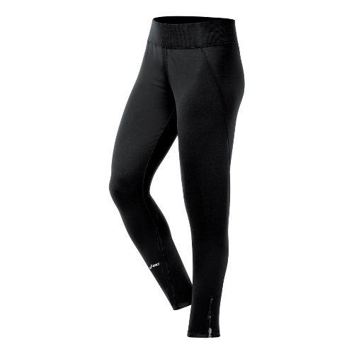 Womens ASICS Straight Sets Full Length Pants - Black XL