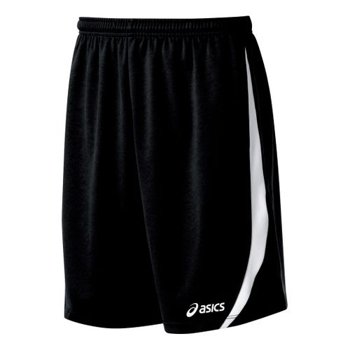 Mens ASICS Bomba Unlined Shorts - Black/White M