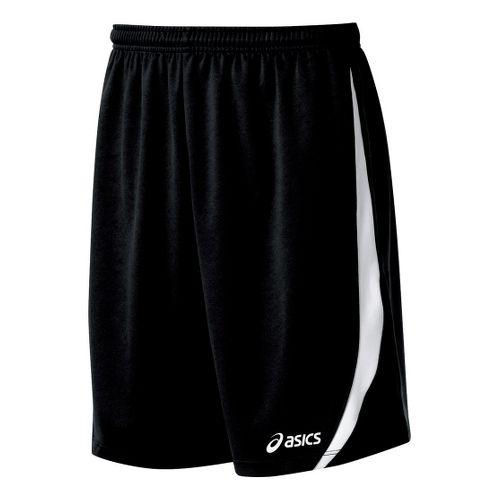 Mens ASICS Bomba Unlined Shorts - Black/White S
