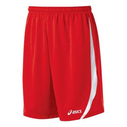 Mens ASICS Bomba Unlined Shorts - Red/White S