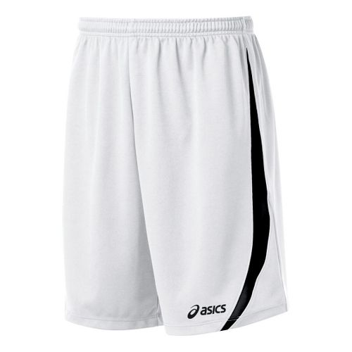 Mens ASICS Bomba Unlined Shorts - White/Black L