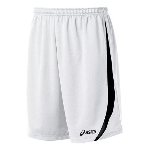 Mens ASICS Bomba Unlined Shorts - White/Black XL