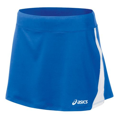 Womens ASICS Love Skirt Fitness Skirts - Royal/White M